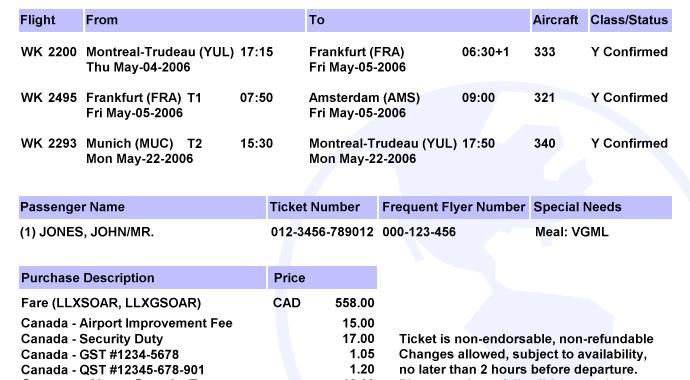 Buy Plane Tickets Online